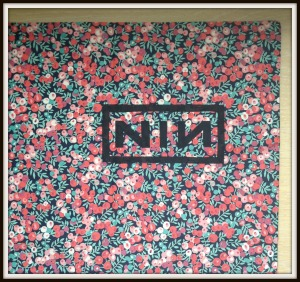 Liberty/Nine Inch Nails pillow case