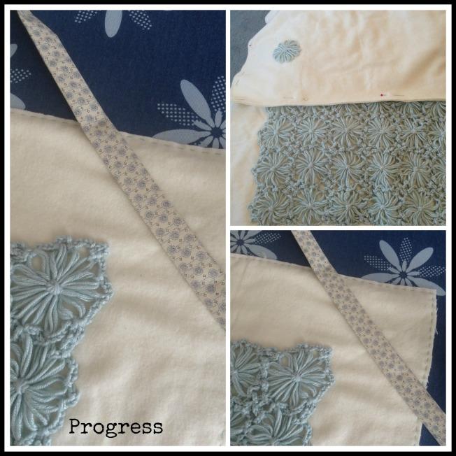 Baby Blanket Work in Progress