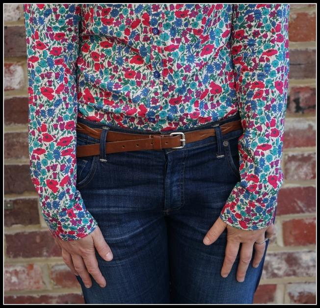 Grainville Shirt, Liberty, The Sleeves