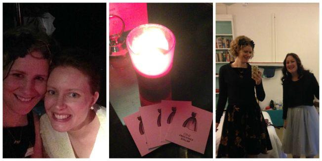 Frocktails: Rennae, Bar Money and Jen