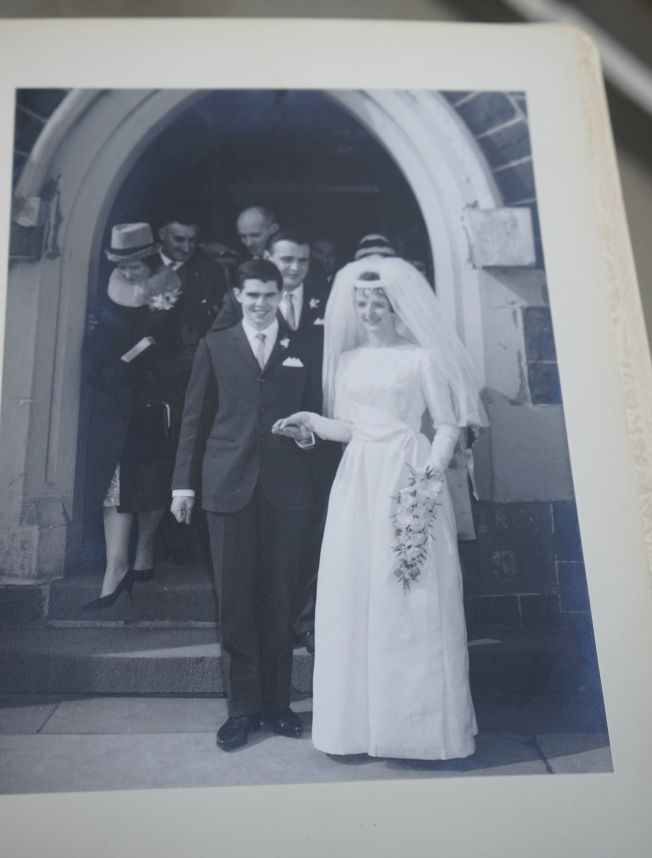 Wedding in 1957
