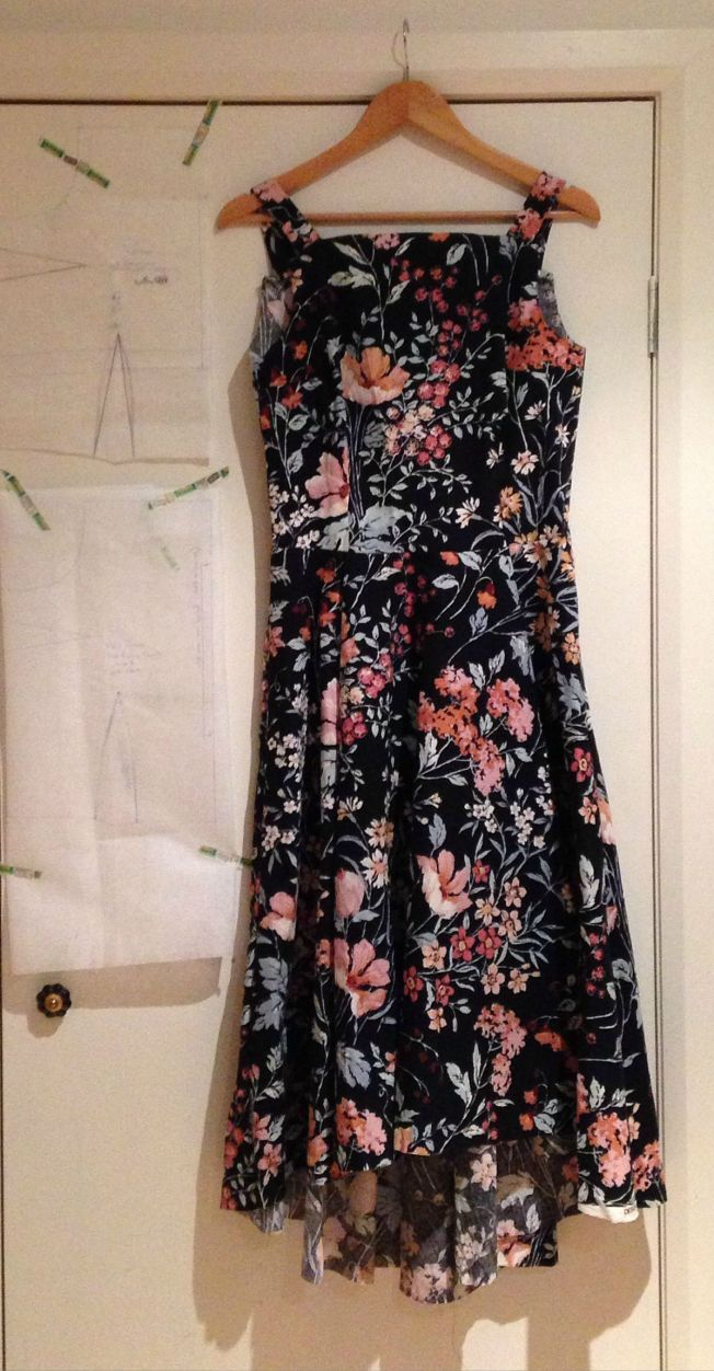 Flora Dress With SBA Toile