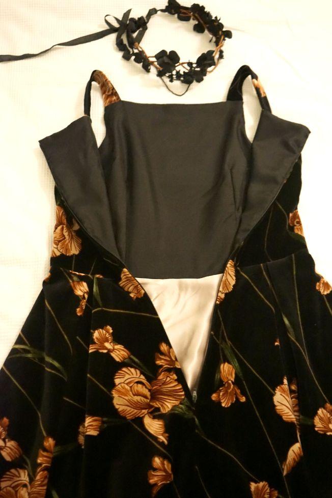 Flora Dress Insides