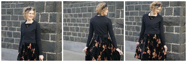 Flora dress with Copellia Cardi