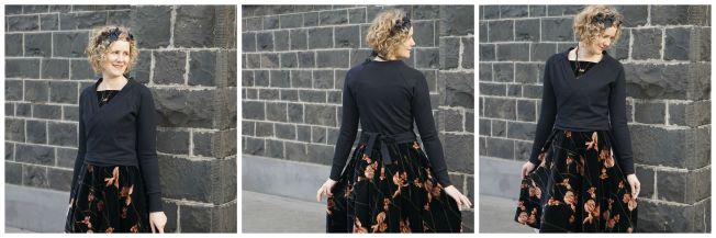 Flora dress with Copellia Cardi