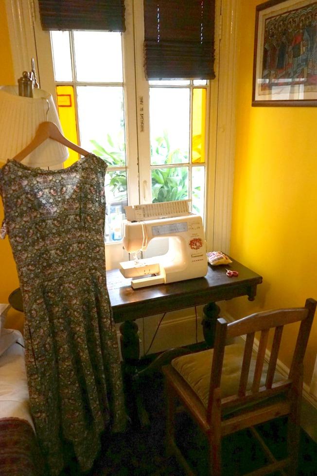 Strawberry Thief Sewing Corner