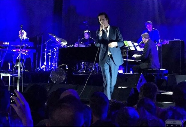Nick Cave - photo credit @roberta_oliveria